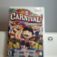 Carnival Games   - Nintendo Wii Authentic/Cleaned/Tested