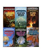 The Death Gate Cycle Collection Set 1-6 Teen Fantasy Fiction Books with Dragons!