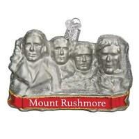 """Mount Rushmore"" (36183)X Old World Christmas Ornament w/ OWC Bx"