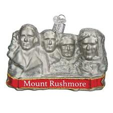 Old World Christmas MOUNT RUSHMORE (36183)X Ornament w/ OWC Bx