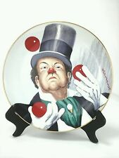 Red Skelton Collectible Plate W.C.Fields Limited Ed Clawn Only 8747 of 10,000