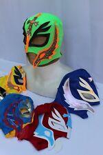 #1 LOT 6 KIDS REY MYSTERIO MEXICAN WRESTLING MASKS niños mascaras lucha mexico
