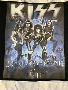 KISS Creatures of the Night Zombie made KISS Band Tee Shirt FREE SHIPPING!!