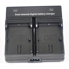 Dual Mains Battery Charger for Canon LP-E6 LP-E6N EOS 7D 6D 5D Mark3 60D 70D 80D