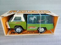 Vintage Nylint Jungle Wagon Pressed Steel w/ Zoo Animals Ford Truck NIB 490