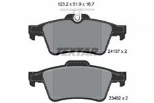 1 Satz Textar Bremsbelag HA Ford Focus C-Max Jaguar S-Type Mazda 3 Opel Vectra C