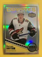 2018-19 OPC Platinum Retro Rainbow Rookie #R-65 Barrett Hayton Arizona Coyotes