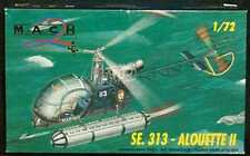 Mach 2 Models 1/72 French S.E. 313 ALOUETTE II Helicopter