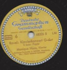 Monique Haas svolge Maurice Ravel nel 1949: Amburgo concerto pianoforte G-Dur