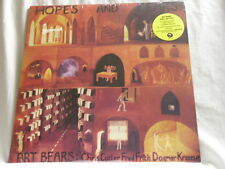 ART BEARS Hopes & Fears Fred Frith Chris Cutler Dagmar Krause 180 gram SEALED LP