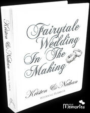 Wedding Planner/Diary/Book/Keepsake momento Fairytale Wedding Personalised