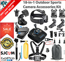 18-in-1 Essentials Accessories Kit GoPro Hero 6/5/4/3/2/1 Session Hero LCD Black