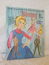 Vintage Rare Original Ideal 1964 Tammy And Her Family Paper Dolls Book Whitman