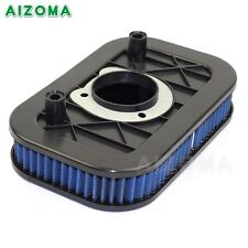 Motorcycle Motorbike Blue Air Filter For Harley Sportster 883 1200 2004-2013 New