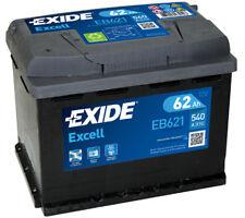 EB621 3 Year Warranty Exide Battery 62AH 540CCA W078SE Type 078