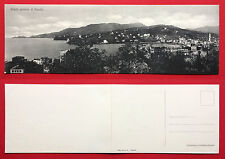 Klapp AK Klappkarte ITALIEN um 1910 Panorama von Rappallo   ( 12701