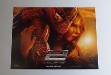 Spider-Man 2 2004 Original UK Mini Quad Cinema Poster