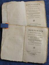 1793 - Nouvelles Nouvelles par M. de Florian - Complet en 2 tomes