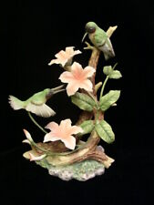 Figurine Home Interiors Homco 1994 Hummingbird Fantasy Masterpiece Merit