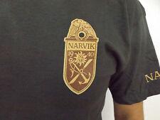 """WH  Gebirgsjäger Fallschirmjäger Marine Dietl  T-Shirt """"Narvik"""" Alpen Gr.XXL"""