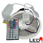 12V 16.4ft RGB Color-Changing Kit w/ Controller + Power Supply + IP65 LED Strip