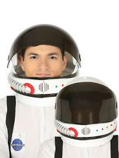 Adults Deluxe Astronaut Helmet Mens Ladies Space Uniform Fancy Dress Accessory