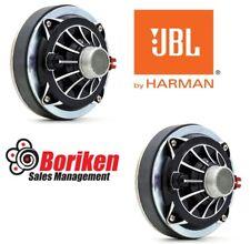 "JBL/SELENIUM D250-TRIO 1"" Phenolic Horn Driver 1-3/8""-18 TPI 2 Pack"