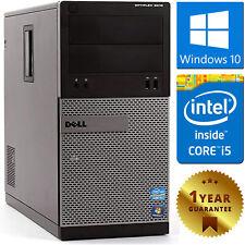 PC COMPUTER DESKTOP RICONDIZIONATO DELL 3010 i5-3470 RAM 8GB HDD 500GB WIN 10