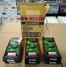 Lot x6 Marvel Hyperscan Video Game System Booster Pack by Mattel CASE NEW