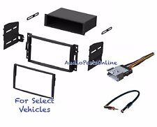 Car Radio Stereo Kit Combo for select Hummer H3 Saturn Relay Pontiac Montana SV6