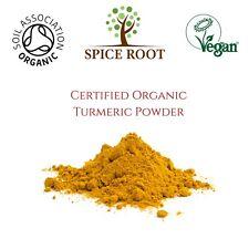 Certified Organic Turmeric Powder 500g Re-sealable Haldi Curcumin Curcuma Longa