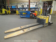 Crown PE4500-60 6,000 LBS Electric Pallet Jack Ride On Warehouse Industrial Lift