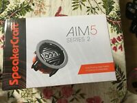SpeakerCraft AIM 5 THREE Series 2 In-Ceiling Speaker (253) New In Sealed Box