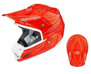 Troy Lee Designs - 2015 SE3 One Shot Rocket Red Helmet Size M