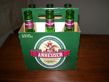 Anheuser Marzen Beer~Anheuser-Busch~Budweiser~6 Beer Bottles With Case~12 Oz