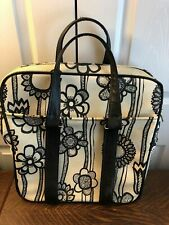 RARE Vintage Samsonite Fashionaire Carry-on Bag, Boho, Mod, Flower Power