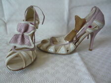 Sacha London pink peep toe shoes UK 6.5 size 40 brand new  Free Postage