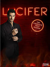 Lucifer: The Complete First Season 1 One (DVD, 2016, 3-Disc Set) NEW
