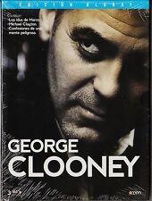 GEORGE CLOONEY 3 blu-ray: IDUS MARZO, MICHAEL CLAYTON y CONFESIONES MENTE PELIGR