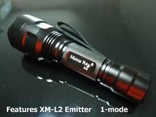 Manta Ray M8 XM-L2 U3 1-mode 1600 Lumen Flashlight  #706