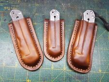 Leather sheath for Chris Reeve Sebenza 21 (small or large) , 25 and  Umnumzaan