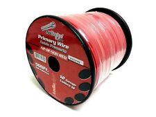 12 GA gauge 500' Red Audiopipe Car Audio Home Primary Wire
