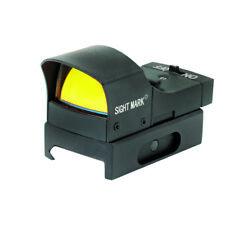 Green Mini Shot Reflex Sight with Sunshade Hood SM14011