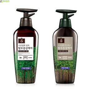 Ryo Moisturizing & Hair Loss Care Shampoo & Comditioner Cypress Ginseng Extract