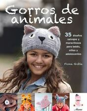 GORROS DE ANIMALS TEJIDOS A DOS AGUJAS / ANIMAL BEANIES - GOBLE, FIONA - NEW BOO