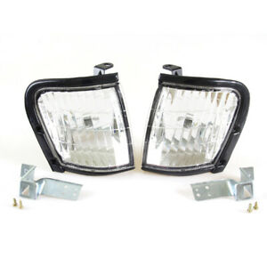 98-2001 ISUZU TF TFR HOLDER RODEO CLEAR CORNER LIGHTS VAUXHALL BRAVA PAIR LH RH
