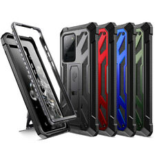 Galaxy S20 Ultra,S20 Plus,S20 Case Poetic Spartan FullBody Rugged with Kickstand