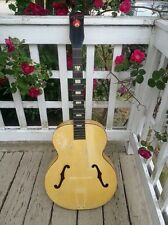 Vintage 1943 HARMONY H985 Buckaroo archtop GUITAR - WWII era - luthier PROJECT