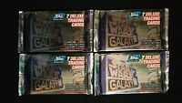 1995 Topps Star Wars Galaxy Series 3 Trading Card 4 Pack Lot