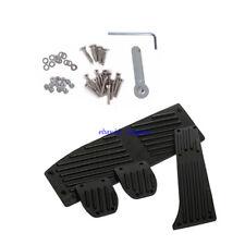 Aluminum MT Fuel Brake Foot Pedal Set E30 E36 E46 E87 E90 E91 E92 E93  Black